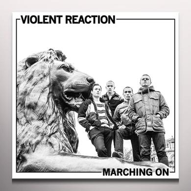 Violent Reaction MARCHING ON Vinyl Record