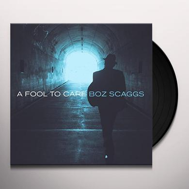 Boz Scaggs FOOL TO CARE Vinyl Record
