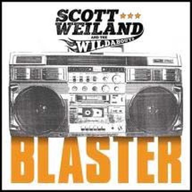 Scott Weiland BLASTER Vinyl Record - Colored Vinyl, Orange Vinyl, Digital Download Included