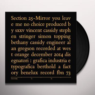 Section 25 MIRROR Vinyl Record