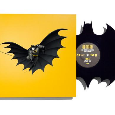 DANNY ELFMAN BATMAN: THE ANIMATED SERIES (DIE-CUT BAT-SYMBOL) Vinyl Record