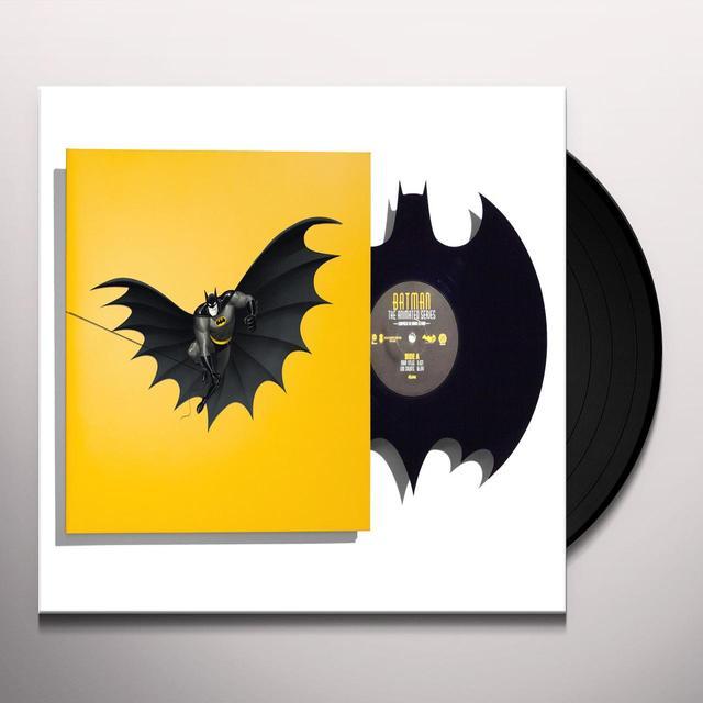 DANNY ELFMAN BATMAN: THE ANIMATED SERIES (DIE-CUT BAT-SYMBOL) Vinyl Record