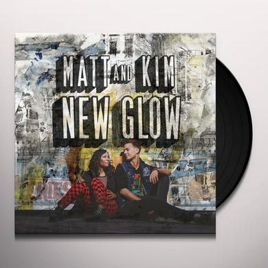 Matt & Kim NEW GLOW Vinyl Record