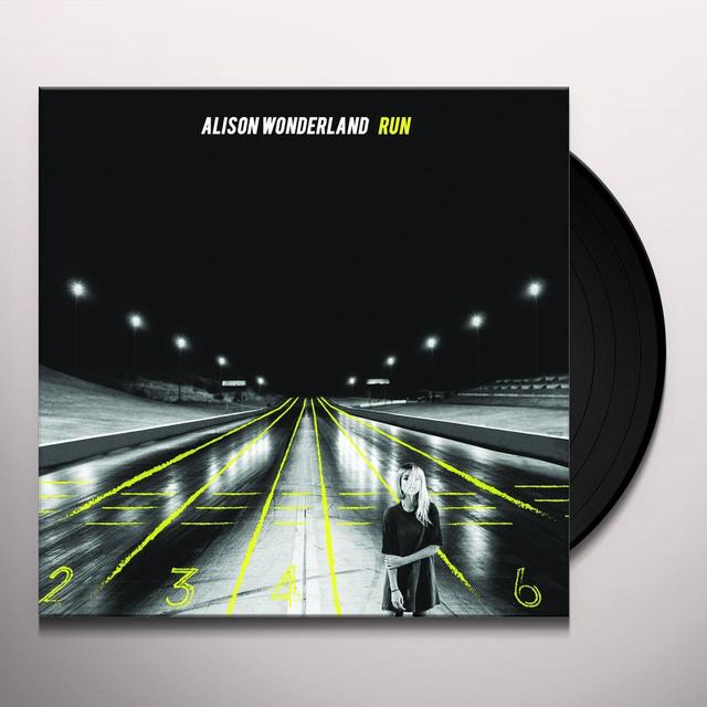 Alison Wonderland RUN Vinyl Record