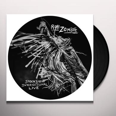 Rob Zombie SPOOKSHOW INTERNATIONAL LIVE Vinyl Record - Picture Disc