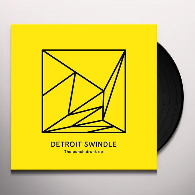 Detroit Swindle PUNCH DRUNK (EP) Vinyl Record
