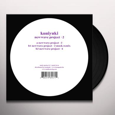 Kuniyuki NEWWAVE PROJECT 2 Vinyl Record