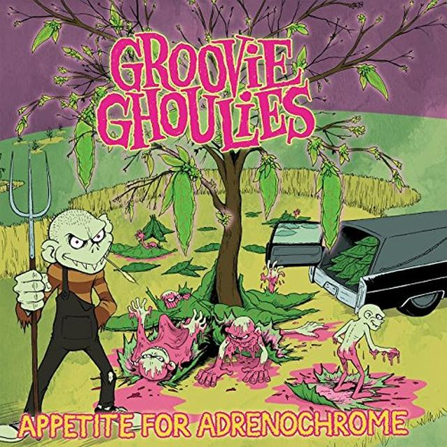 Groovie Ghoulies APPETITE FOR ADRENOCHROME Vinyl Record - Colored Vinyl, Digital Download Included