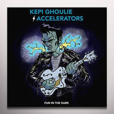 KEPI GHOULIE / ACCELERATORS FUN IN THE DARK Vinyl Record - Colored Vinyl, Digital Download Included