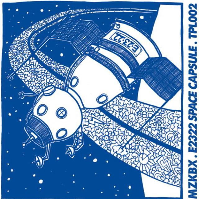 MZKBX SPACE CAPSULE Vinyl Record