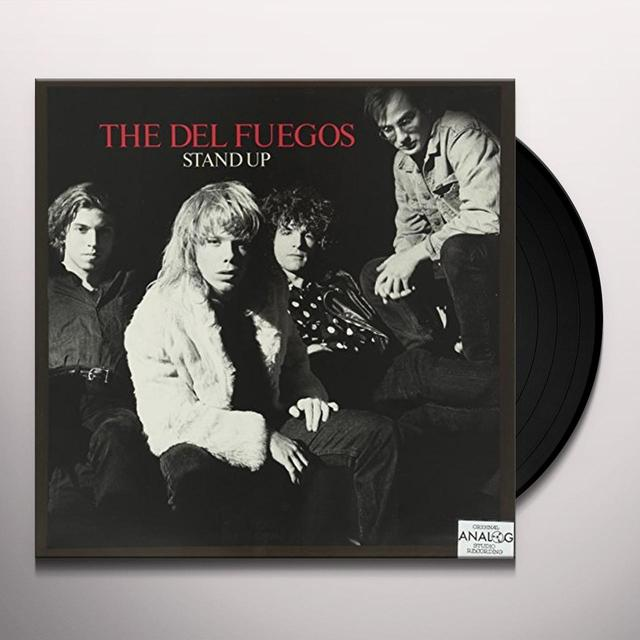Del Fuegos STAND UP Vinyl Record