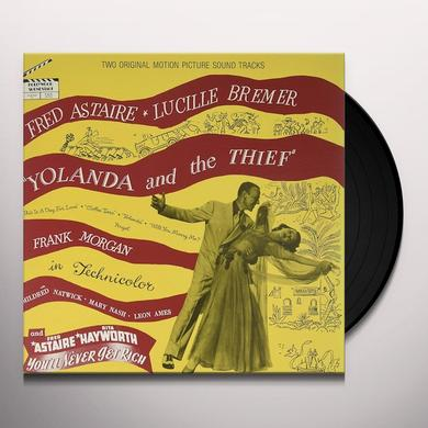 Fred Astaire YOLANDA AND THE THIEF / NEVER GET RICH / O.S.T. Vinyl Record