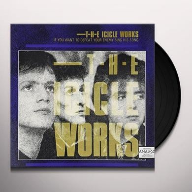 Icicle Works IF YOU WANT TO DEFEAT YOUR ENEMY Vinyl Record