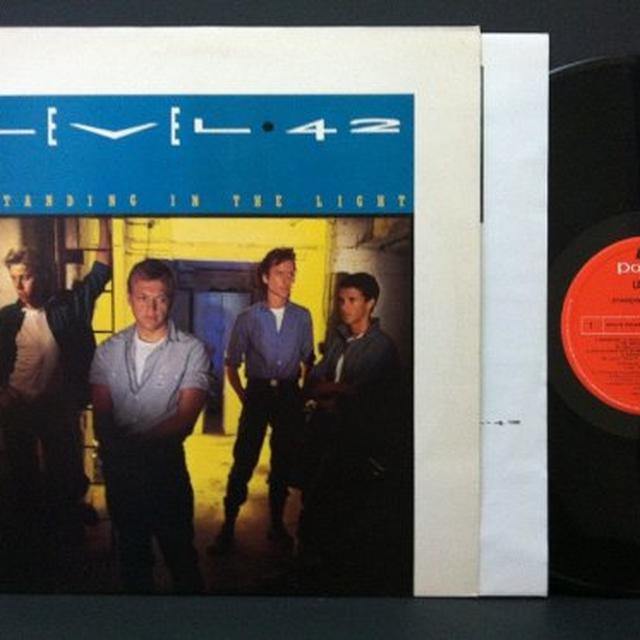 Level 42 STANDING IN THE LIGHT Vinyl Record