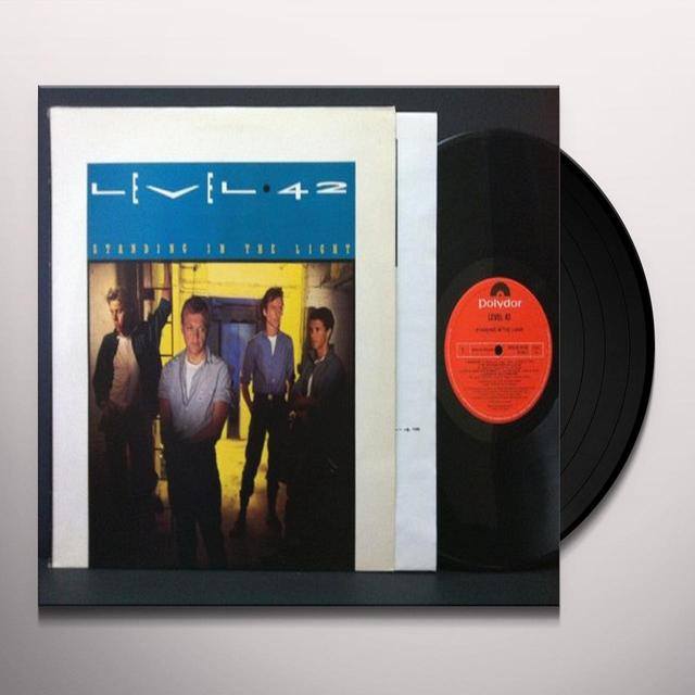 Level 42 STANDING IN THE LIGHT Vinyl Record