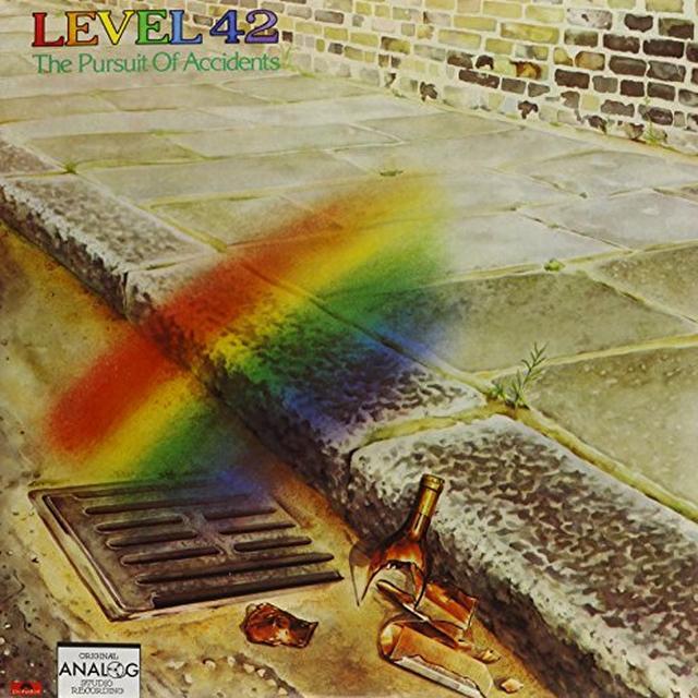 Level 42 PURSUIT OF ACCIDENTS Vinyl Record