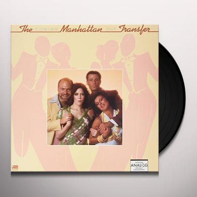 Manhattan Transfer COMING OUT Vinyl Record