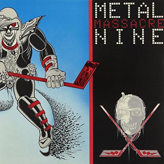 METAL MASSACRE 9 BANSHEE / TOXIK / OLIVER MAGNUM / DISSENTER Vinyl Record