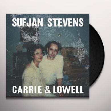 Sufjan Stevens CARRIE & LOWELL Vinyl Record