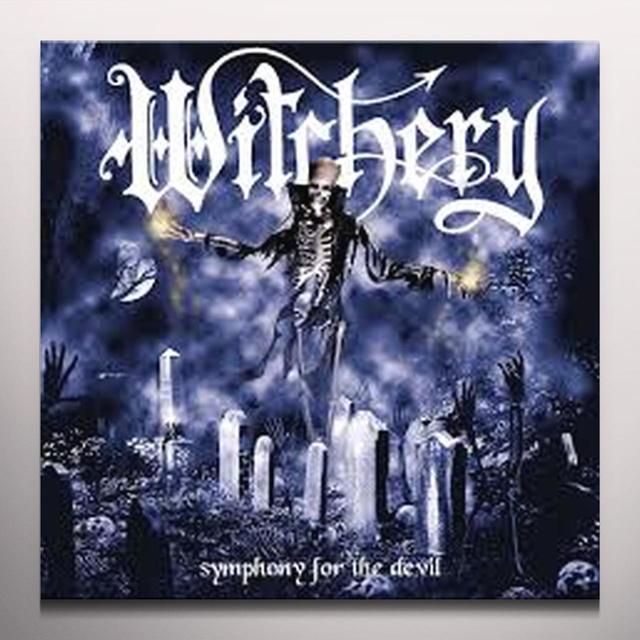 Witchery SYMPHONY FOR THE DEVIL Vinyl Record - Clear Vinyl