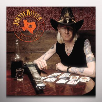 Johnny Winter LIVE BOOTLEG SERIES VOLUME 3 Vinyl Record - Blue Vinyl, Clear Vinyl, Limited Edition