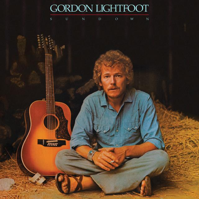 Gordon Lightfoot SUNDOWN Vinyl Record - 180 Gram Pressing, Anniversary Edition