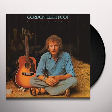 Gordon Lightfoot SUNDOWN Vinyl Record - 180 Gram Pressing, Anniversary Edition