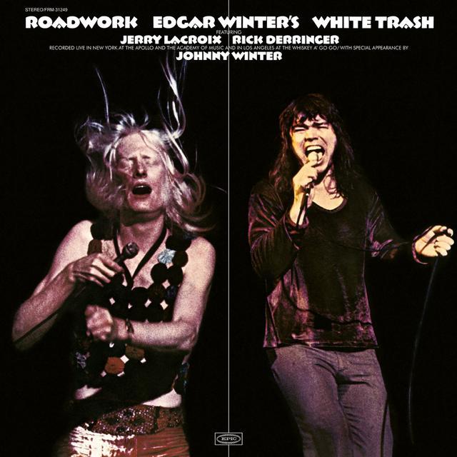 Edgar Winter's White Trash ROADWORK Vinyl Record