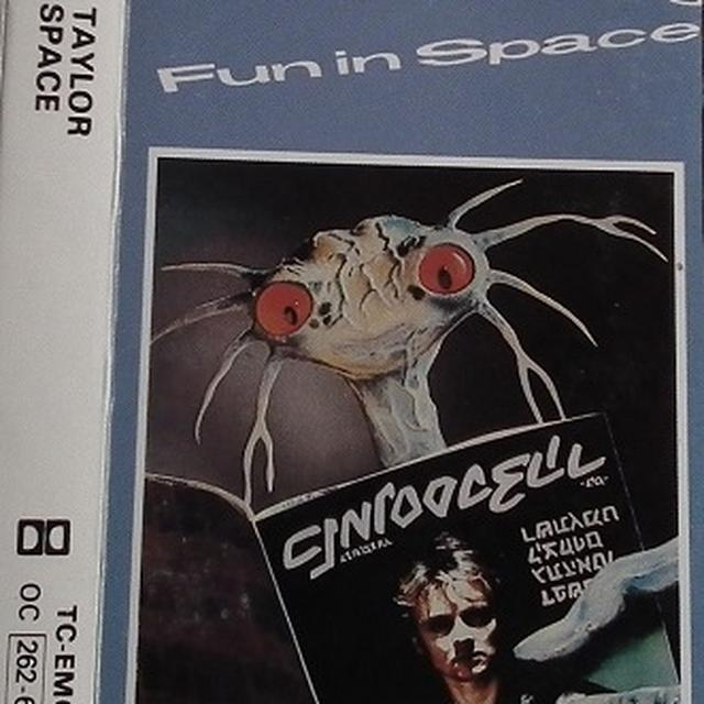 Roger Taylor FUN IN SPACE Vinyl Record - Clear Vinyl