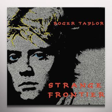 Roger Taylor STRANGE FRONTIER Vinyl Record - Clear Vinyl, Red Vinyl
