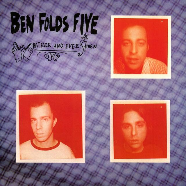 Ben Folds Five WHATEVER & EVER AMEN Vinyl Record - 180 Gram Pressing
