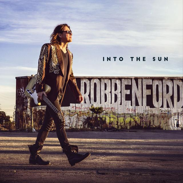 Robben Ford INTO THE SUN Vinyl Record