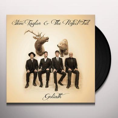 Steve Taylor & The Perfect Foil GOLIATH Vinyl Record