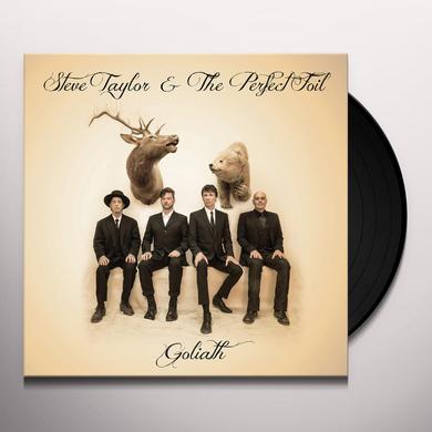 Steve Taylor & The Perfect Foil GOLIATH Vinyl Record