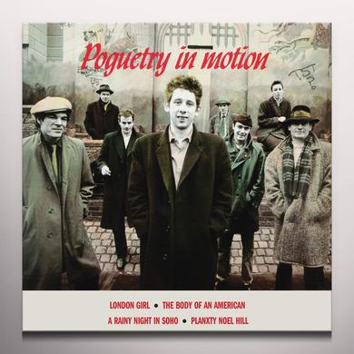 The Pogues POGUETRY IN MOTION Vinyl Record - Colored Vinyl, Red Vinyl, Remastered