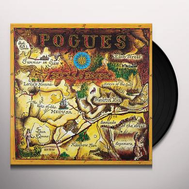 The Pogues HELL'S DITCH Vinyl Record - 180 Gram Pressing, Remastered