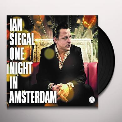 Ian Siegal ONE NIGHT IN AMSTERDAM Vinyl Record - UK Import