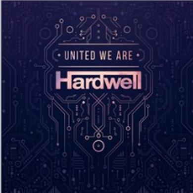 Hardwell UNITED WE ARE Vinyl Record - UK Release
