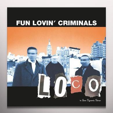 Fun Lovin Criminals LOCO (ORANGE VINYL) Vinyl Record - Colored Vinyl, Holland Import