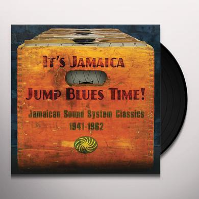 IT'S JAMAICA JUMP BLUES TIME / VARIOUS (UK) IT'S JAMAICA JUMP BLUES TIME / VARIOUS Vinyl Record - UK Release