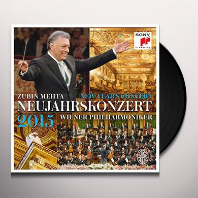 Zubin Mehta NEUJAHRSKONZERT / NEW YEAR'S CONCERT Vinyl Record - Holland Import