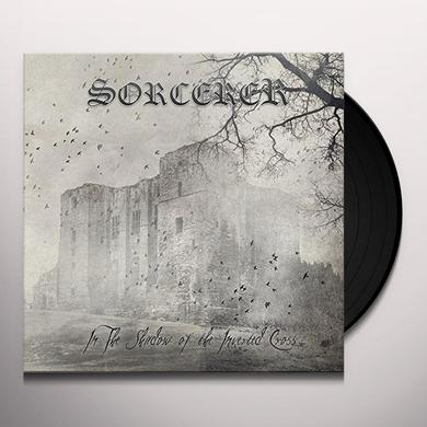 Sorcerer IN THE SHADOW OF THE INVERTED CROSS Vinyl Record