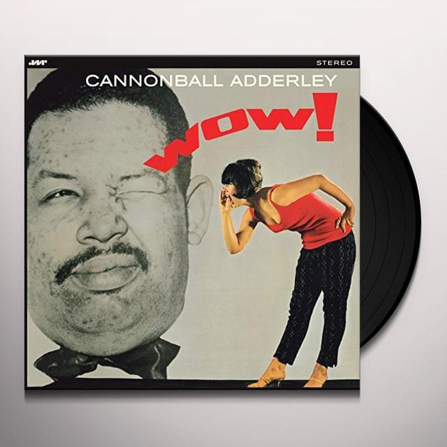 Cannonball Adderley WOW Vinyl Record - Spain Import
