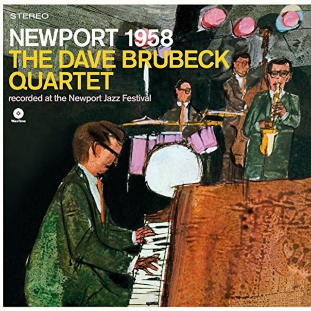 Dave Brubeck & Paul Desmond NEWPORT 1958 Vinyl Record - Spain Import