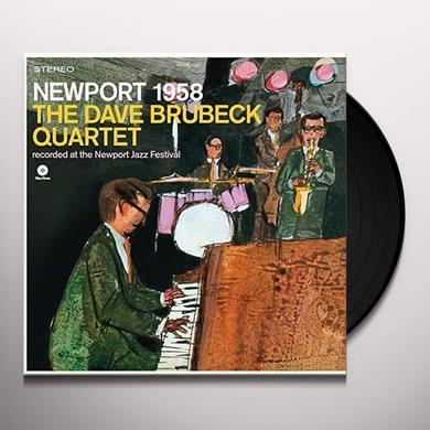 Dave Brubeck & Paul Desmond NEWPORT 1958 Vinyl Record - Spain Import