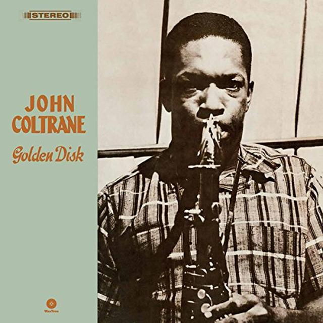 John Coltrane GOLDEN DISK Vinyl Record - Spain Import