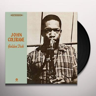 John Coltrane GOLDEN DISK Vinyl Record - Spain Release