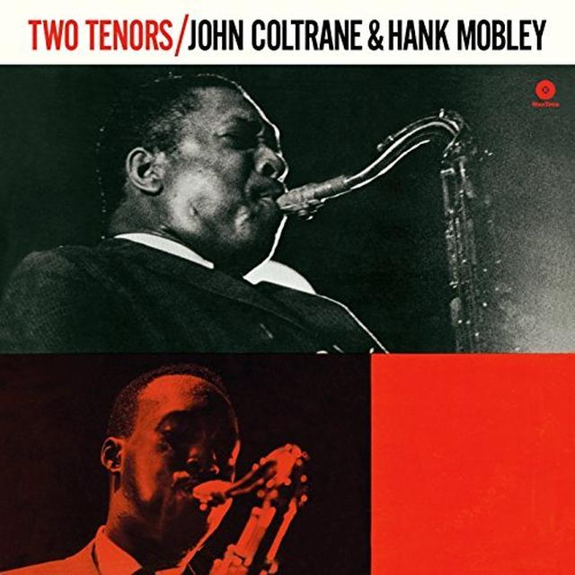 John Coltrane / Hank Mobley TWO TENORS Vinyl Record - Spain Import