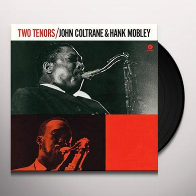 John Coltrane / Hank Mobley TWO TENORS Vinyl Record