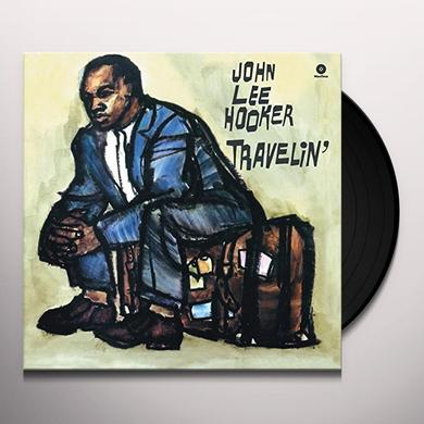 John Lee Hooker TRAVELIN' Vinyl Record